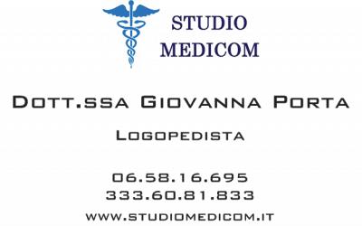 Porta Giovanna Logopedista